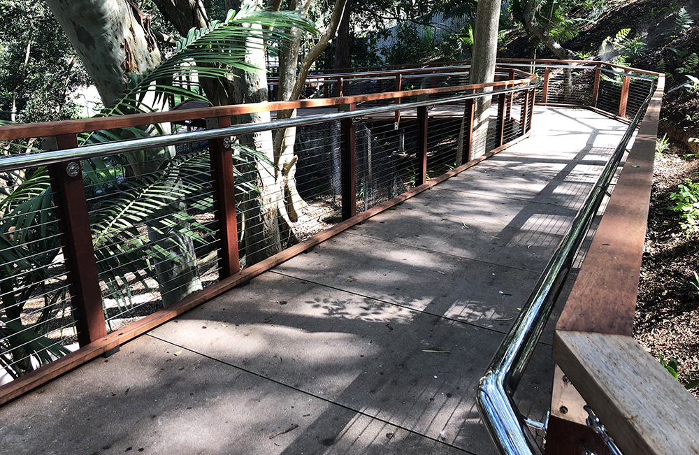 Currumbin Wildlife Sanctuary-Stainless Balustrade Valley-Image 1