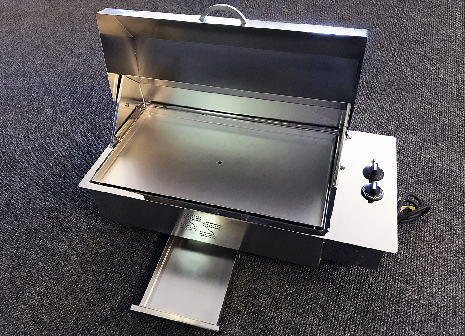 Custom Stainless Electric Teppanyaki BBQ-Image 1