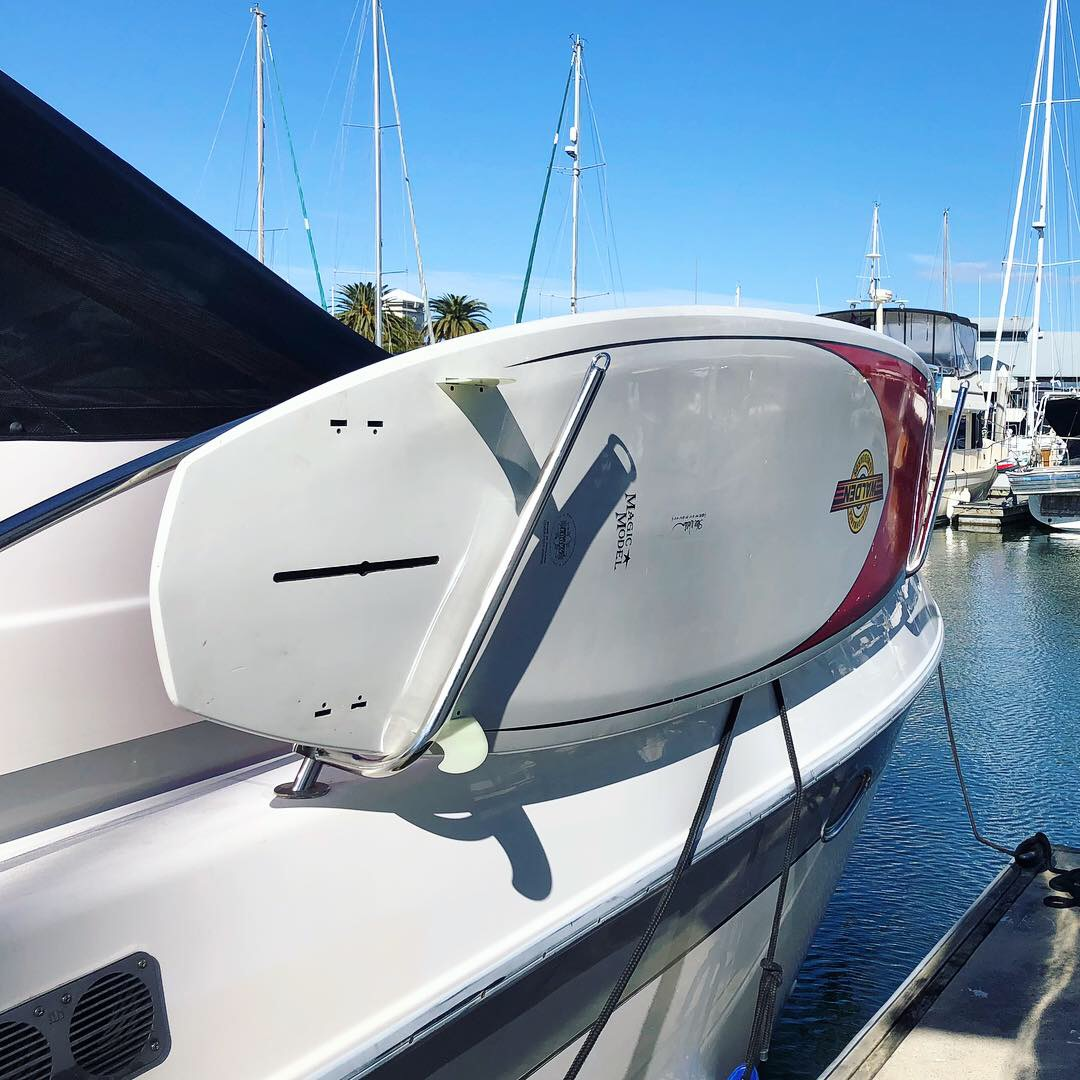 Marine Stainless board/SUP Removable Rack for any boat