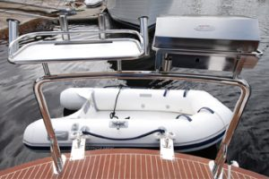 Stainless Steel Boat BBQ and Bait Board Combo