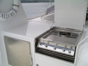 Stainless Steel Marine Grade BBQ Maritimo Boats