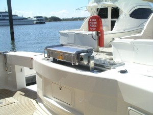 marine boat bbq