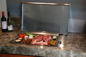 Stainless Steel BBQ, Drop In Gas BBQ-Cookout BBQ Residential