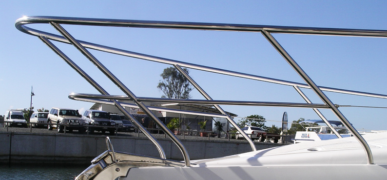 stainless steel bow rails