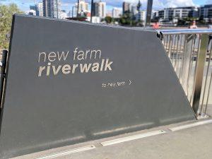 Brisbane Riverwalk Rebuild stainless balustrades