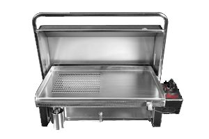 Southern Stainless: Cookout Deluxe with Grill BBQ