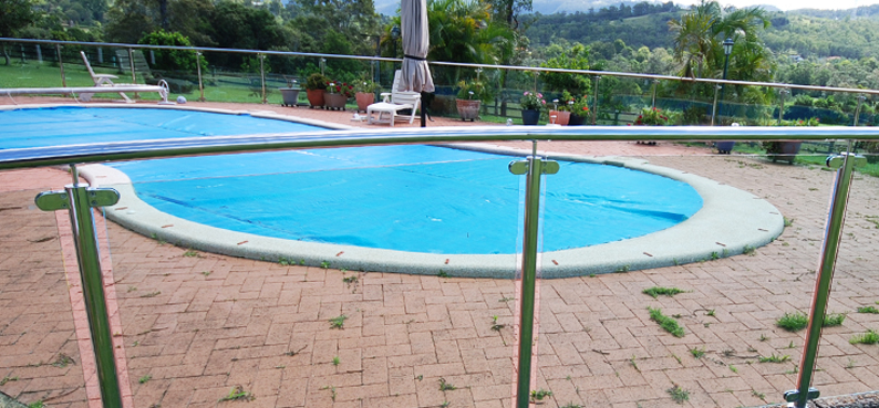 Stainless pool fencing fabrication australia
