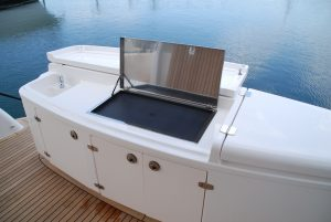 Jumbo Electric Stainless Boat BBQ - Drop In