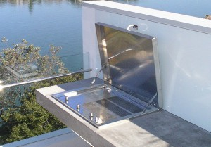 Residential Stainless Steel Cookout BBQ-Balcony BBQ