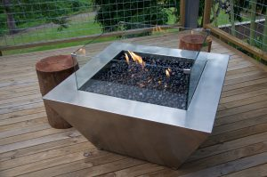 FirePit by Southern Stainless, Square Fire Pit