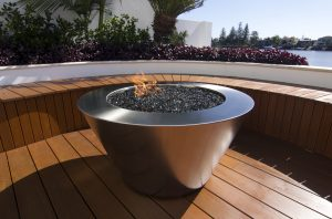 FirePit by Southern Stainless, Round Fire Pit outdoor
