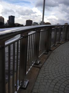 Southern Stainless - Brisbane City Reach Riverwalk, balustrade, stainless steel