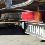 Stainless number plate frame
