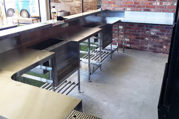 Southern Stainless-Commercial Project fabrication -Prohibition Brisbane