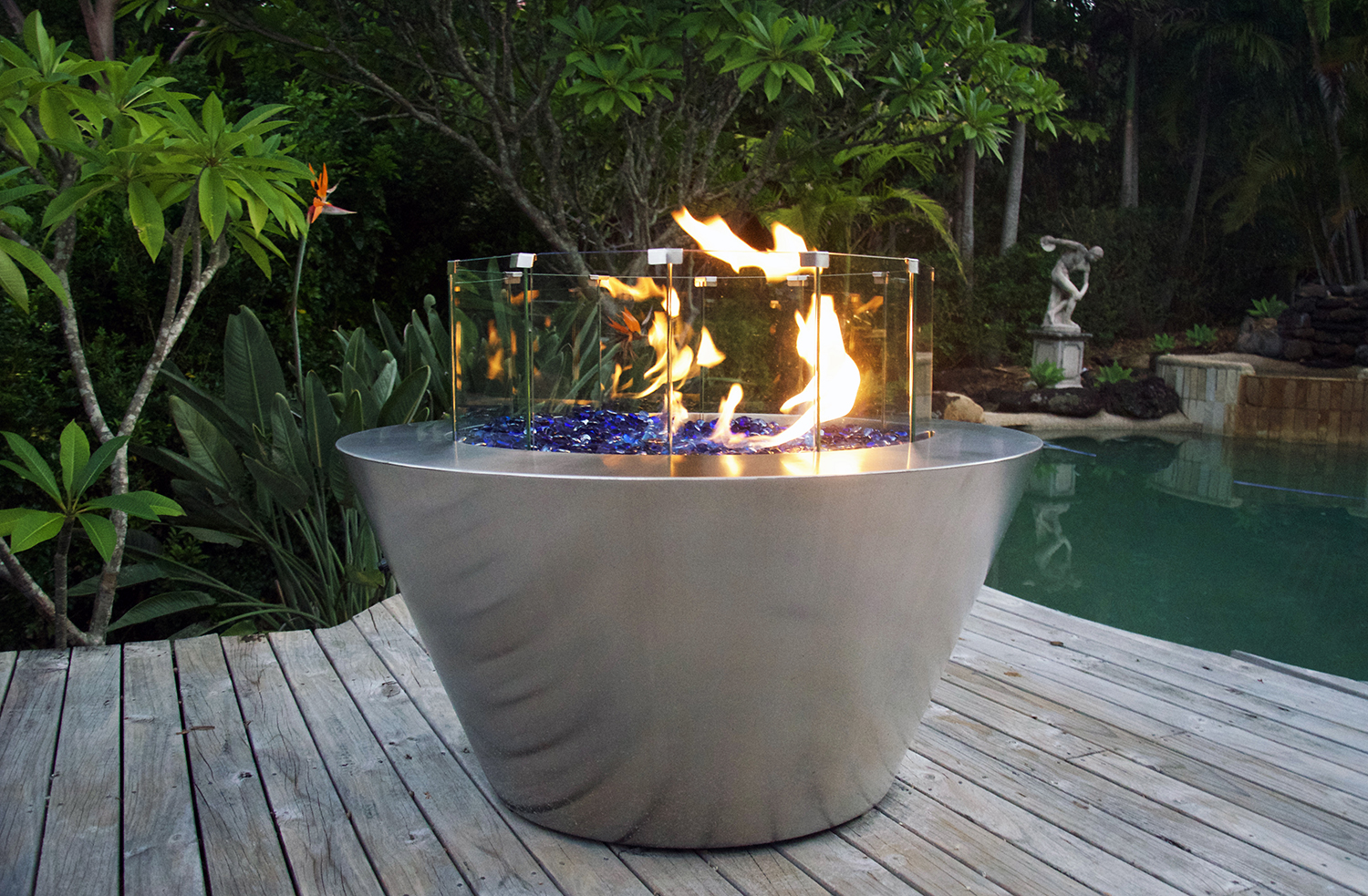 Gas Fire Pit Southern Stainless
