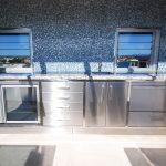 Custom stainless steel cabinet-1