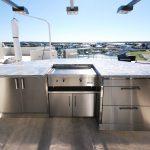 Custom stainless steel cabinet-5
