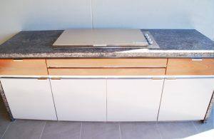 Custom stainless steel cabinet-2