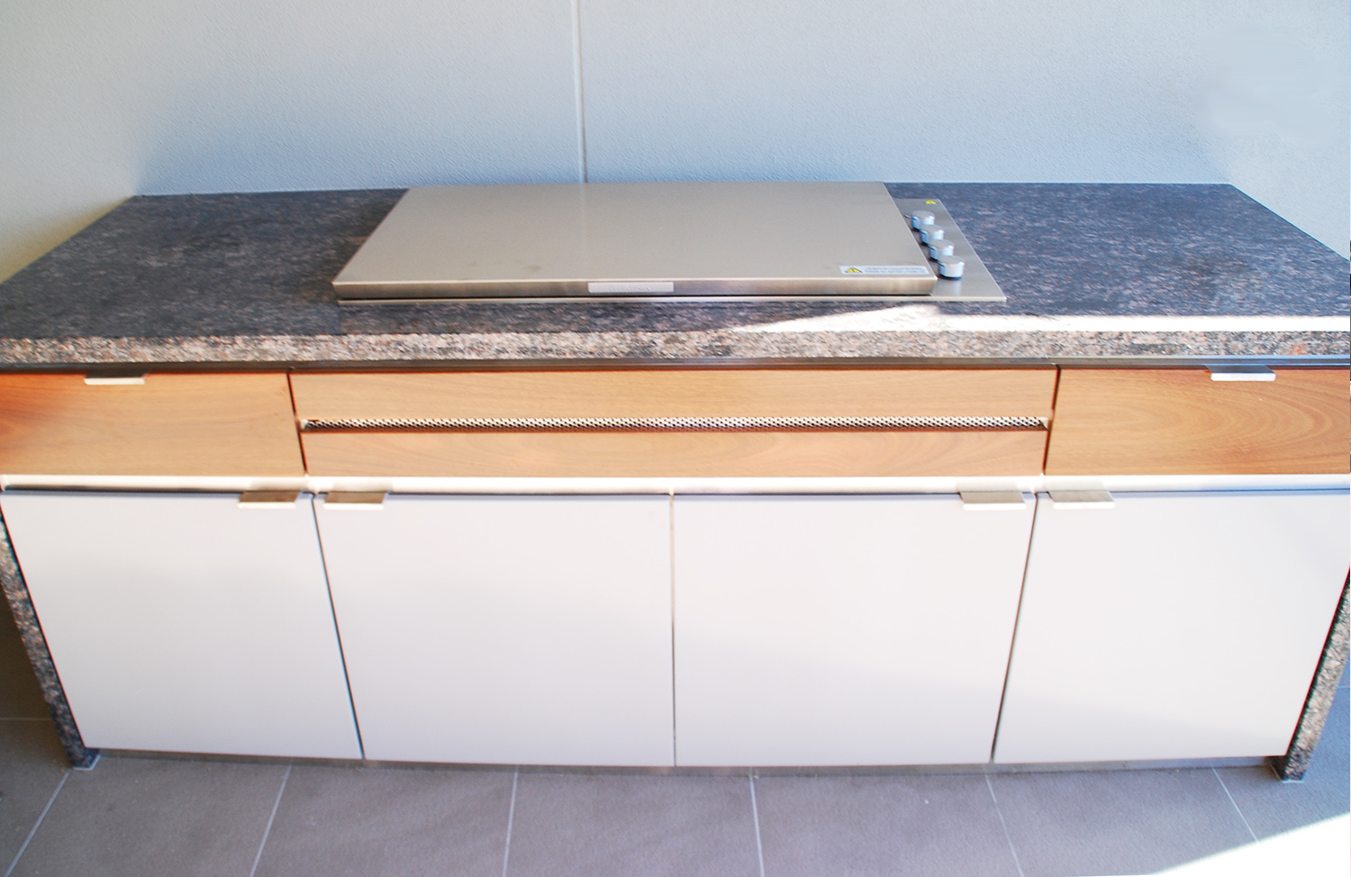 Custom stainless steel cabinet-2