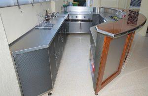 Custom stainless steel cabinet-6