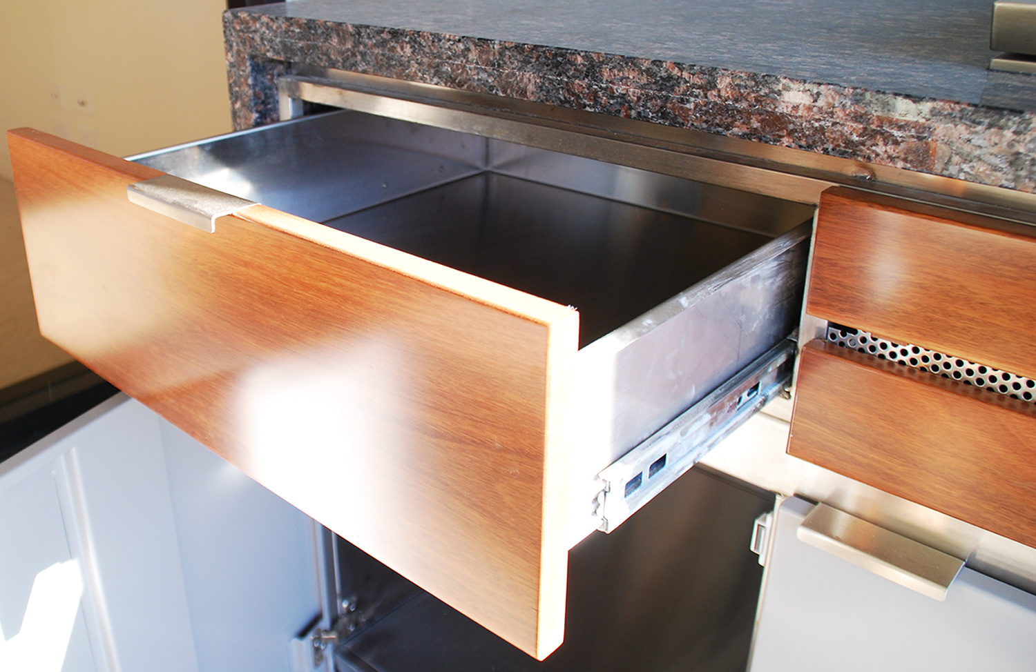 Custom stainless steel cabinet-4