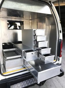 Stainless steel car Fitout Toyota 4WD