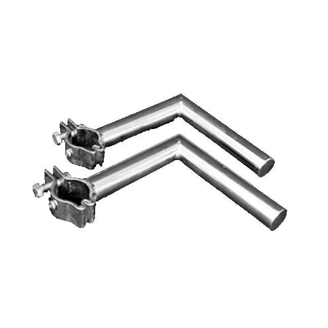 Cookout BBQ's stainless steel clamp on rail mounts