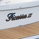 Stainless steel boat name and lettering gold coast