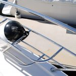 Custom made stainless boat Fender Baskets