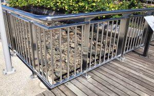 Brisbane Catalina Riverwalk, stainless handrails