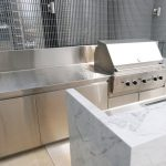 Residential stainless steel kitchens and benches