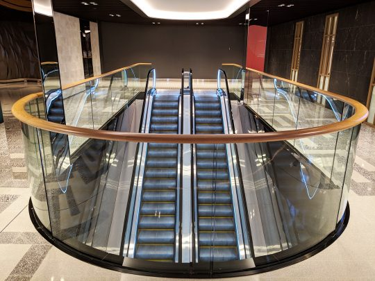 Myer Central Voids Escalator-Robina Town Centre 2018