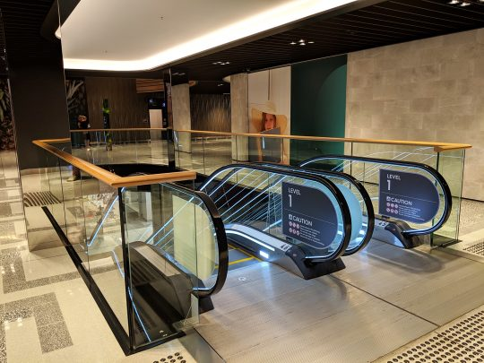 Myer Central Voids Level 1 Escalator-Robina Town Centre 2018