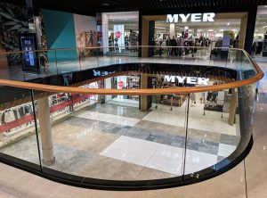 Robina Town Centre Myer Centre Upgrade 2018 Stainless Steel