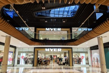 Robina Town Centre Myer Centre Upgrade 2018 Stainless