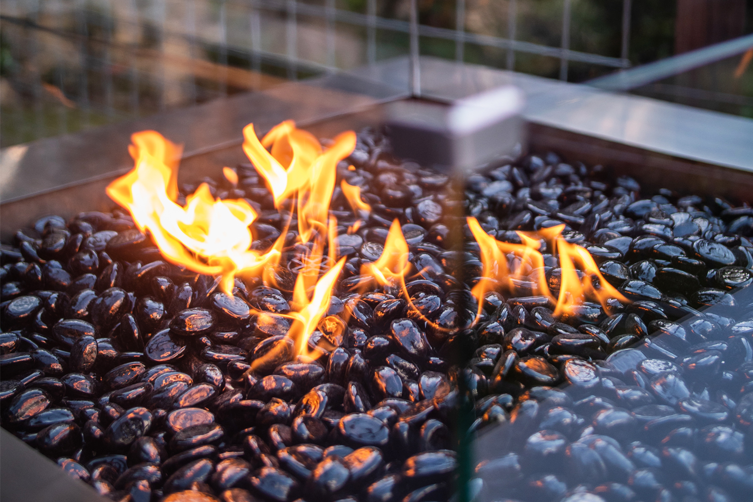 High quality stainless gas fire pits, Australia