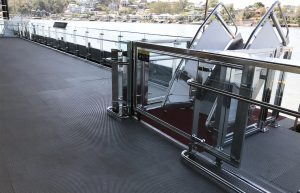 New Farm Ferry Terminal Stainless Steel Balustrade