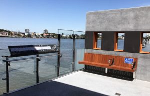 New Farm Ferry Terminal Stainless Steel Balustrade and bench frame