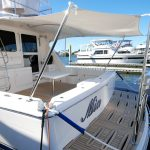 Australian stainless boat euro awning