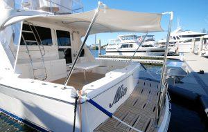 Australian stainless boat euro awning