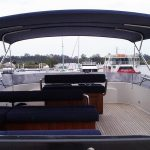 Australian stainless boat awning and Bimini