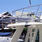 Australian stainless Alaska boat awning frame