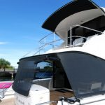 Australian stainless Maritimo boat awning