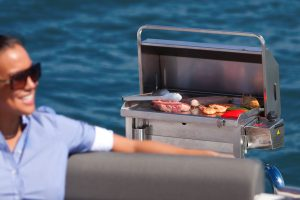 Cookout BBQ's stainless boat BBQ, Australia