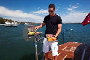 Boat BBQ by Cookout BBQ's