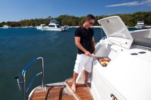 Stainless Flush Mount Boat BBQ