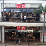 Stainless Commercial Projects, UNIQLO mirror polished stainless shopfront