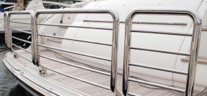 Australian stainless steel Stern Rail