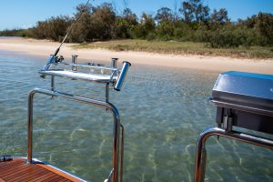 Tubular Bait Board with Deluxe Gas BBQ