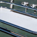Tubular Baitboard with stainless rod holders